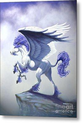 Pegasus Unchained Metal Print by Stanley Morrison