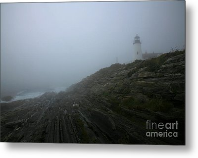 Pemaquid And The Sea Metal Print by Timothy Johnson