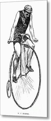 Penny Farthing Bicycle Metal Print by Granger