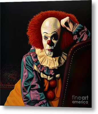 Pennywise Metal Print by Paul Meijering
