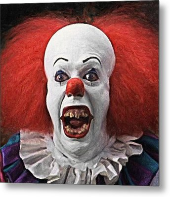 Pennywise The Clown Metal Print by Taylan Soyturk