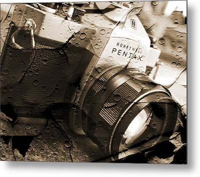 Pentax Spotmatic II Metal Print by Mike McGlothlen