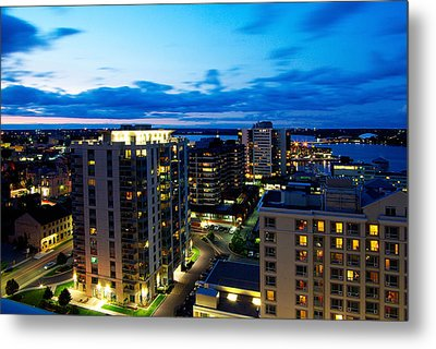 Penthouse View Metal Print by Paul Wash