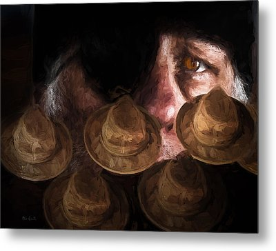 People In The Box Metal Print by Bob Orsillo