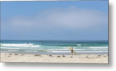 Perfect Summer Metal Print by Peter Tellone