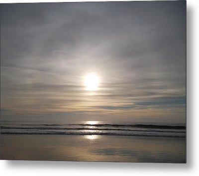 Perfection In Reflection Metal Print by Patricia Lyons