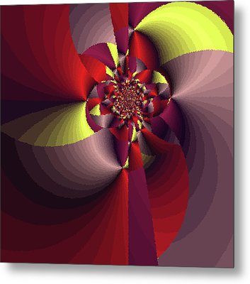 Perfectly Wrapped Metal Print by Bonnie Bruno