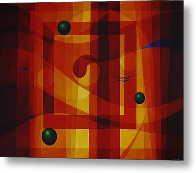 Perpetual Movement Metal Print by Alberto D-Assumpcao