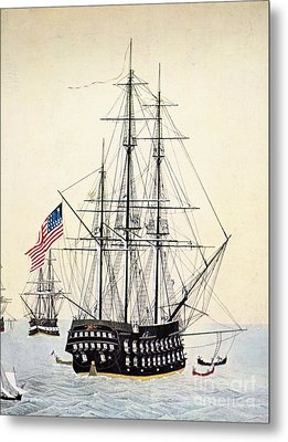 Perrys Expedition To Japan Metal Print by Granger