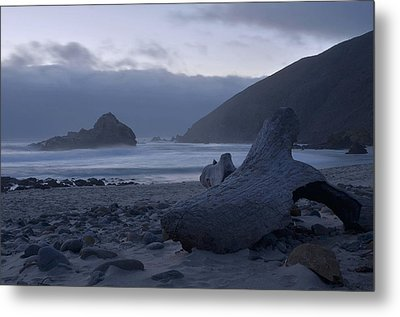 Pfeiffer Beach - Big Sur Metal Print by Stephen  Vecchiotti