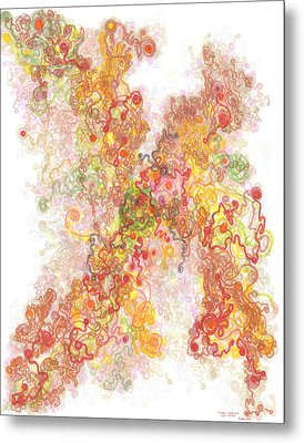 Phase Transition Metal Print by Regina Valluzzi