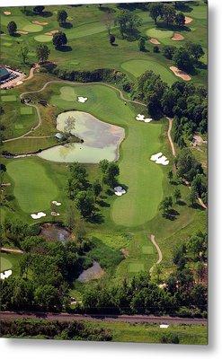 Philadelphia Cricket Club Militia Hill Golf Course 3rd Hole Metal Print by Duncan Pearson