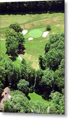 Philadelphia Cricket Club St Martins Golf Course 5th Hole 415 W Willow Grove Ave Phila Pa 19118 Metal Print by Duncan Pearson