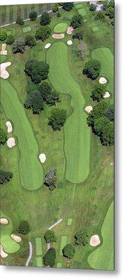 Philadelphia Cricket Club Wissahickon Golf Course 4th Hole Metal Print by Duncan Pearson