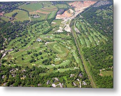 Philadelphia Cricket Club Wissahickon Militia Hill Golf Courses Metal Print by Duncan Pearson