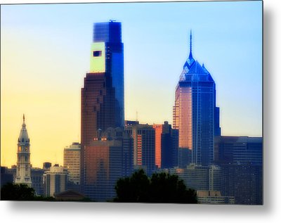 Philly Morning Metal Print by Bill Cannon