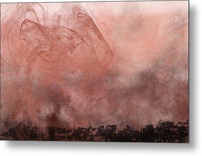 Phoenix Rising Metal Print by Christopher Gaston