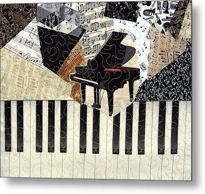 Piano Concerto Metal Print by Loretta Alvarado