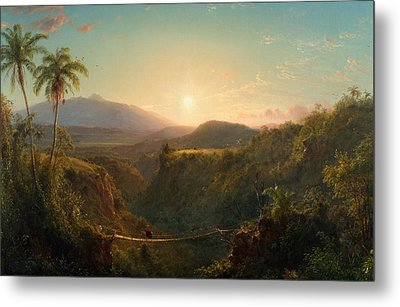 Pichincha Metal Print by Frederic Edwin Church