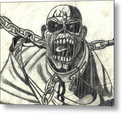 Piece Of Mind Metal Print by Rachel Zigman