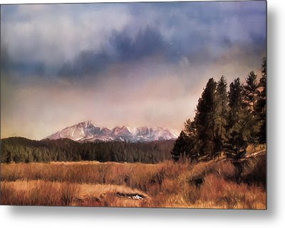 Pikes Peak Colorado Landscape Art By Jai Johnson Metal Print by Jai Johnson