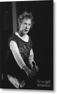 Pil Johnny Came On Stage Metal Print by Philippe Taka