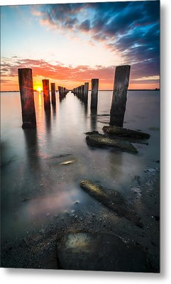 Pilling Up Metal Print by Marvin Spates