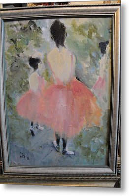 Pink Ballet Metal Print by Les Smith