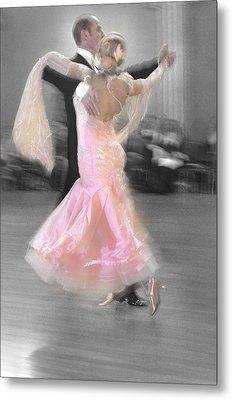 Pink Lady Dancing Metal Print by Kevin Felts