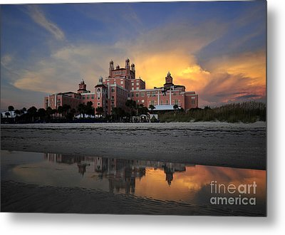 Pink Reflections Metal Print by David Lee Thompson