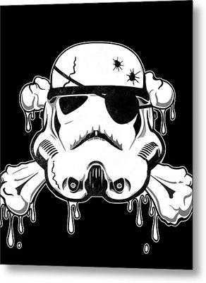Pirate Trooper Metal Print by Nicklas Gustafsson