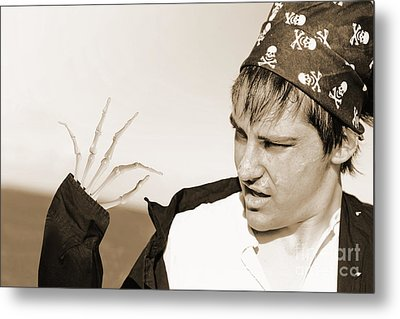 Pirate Turning Undead Metal Print by Jorgo Photography - Wall Art Gallery