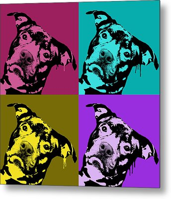 Pit Face Metal Print by Dean Russo