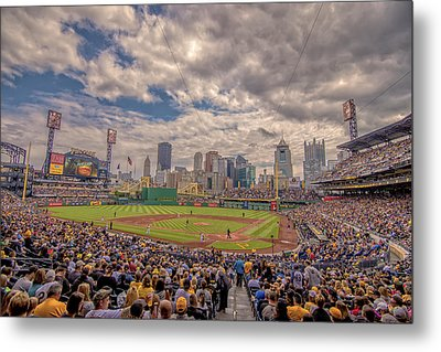 Pittsburgh Pirates 1a Pnc Park Metal Print by David Haskett