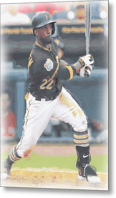 Pittsburgh Pirates Andrew Mccutchen 3 Metal Print by Joe Hamilton