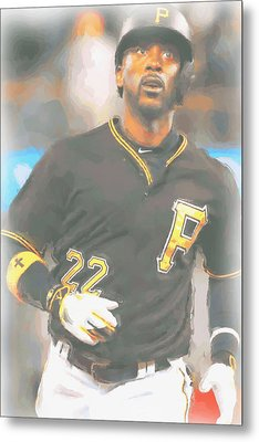 Pittsburgh Pirates Andrew Mccutchen 4 Metal Print by Joe Hamilton