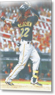 Pittsburgh Pirates Andrew Mccutchen 5 Metal Print by Joe Hamilton