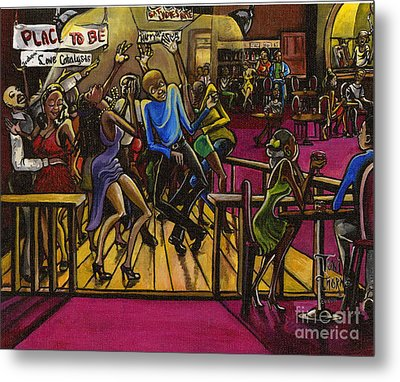 Place To Be Metal Print by Toni  Thorne