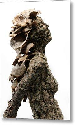 Placid Efflorescence A Sculpture By Adam Long Metal Print by Adam Long