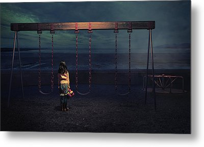 Playground Metal Print by Fang Tong