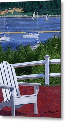 Pleasant Bay Cape Cod Metal Print by Dominic White