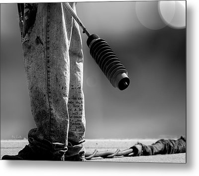 Poetry Pants And Flamethrower  Metal Print by Bob Orsillo