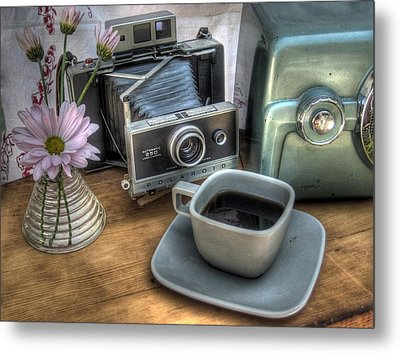 Polaroid Perceptions Metal Print by Jane Linders