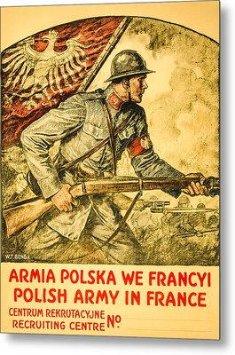 Polish Arny In France Metal Print by David Letts
