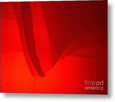 Poncho Abstract 7 Metal Print by Jeff Breiman