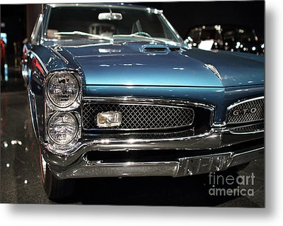 Pontiac Gto Metal Print by Wingsdomain Art and Photography