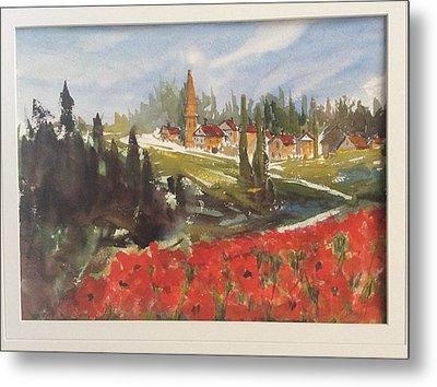 Poppies In Bloom Metal Print by Heidi Patricio-Nadon