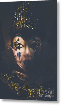 Porcelain Doll. Performing Arts Event Metal Print by Jorgo Photography - Wall Art Gallery