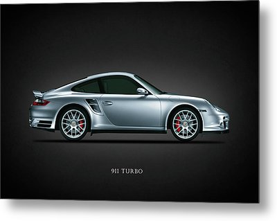 Porsche 911 Turbo Metal Print by Mark Rogan