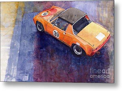 Porsche 914 Gt Metal Print by Yuriy  Shevchuk